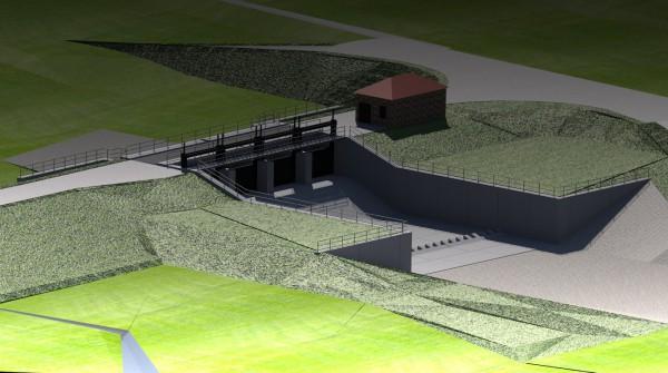 Aland-Überleitungsbauwerk
